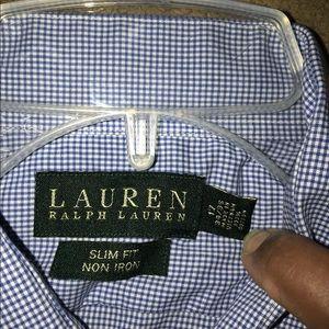 Ralph Lauren male button down shirt